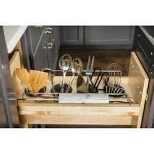 kitchen base cabinets ebay 6 opening kitchen base cabinet pull out utensil bin soft