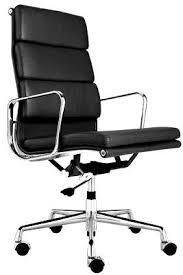 fauteuil bureau eames fauteuil pad ea219 eames noir discount design
