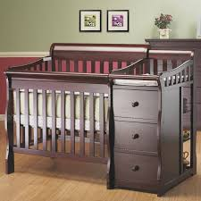 Crib And Changing Table Sorelle Newport 2 In 1 Convertible Crib And Changer With Mattress