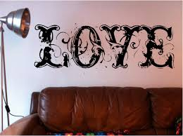 stunning huge love words wall art quote sticker vinyl bedroom stunning huge love words wall art quote sticker vinyl bedroom shabby chic lounge decal