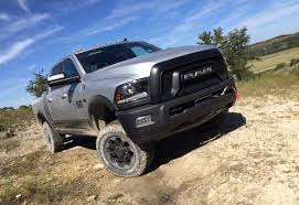 first off road drive in the 2017 ram power wagon is it as