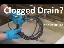 Kitchen Sink Clogged Past Trap by Clogged Drain Youtube