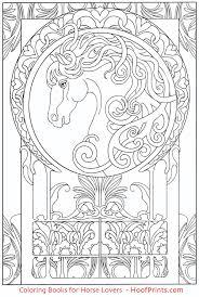 nouveau designs coloring book hoofprints com