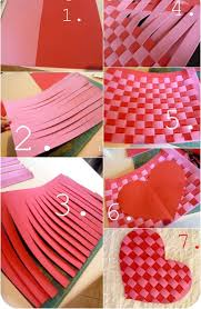 Valentine Decorations Ideas by Valentine Days Creative Home Decorations With Paper For Valentine