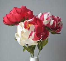 Handmade Flowers Paper - 389 best paper images on pinterest paper crepe paper flowers