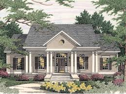 georgian style home plans one story colonial style house plans