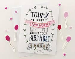 sassy birthday card etsy