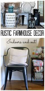 rustic farmhouse decor indoors and out the country chic cottage