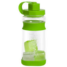 Water Bottle Storage Container 60 Oz Tritan Hydration Bottle With Reusable Ice Cubes By Rove Ttu