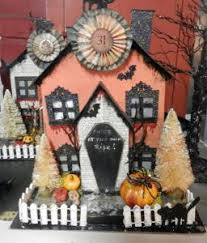 the haunted world of halloween village houses third edition