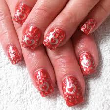 designs for red nails choice image nail art designs