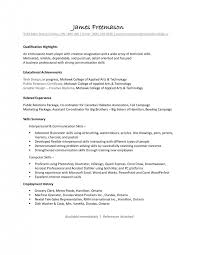 Prep Cook Resume Examples Cover Letter Job Skills Examples For Resume Examples Of Job Skills