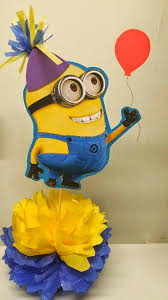 minions centerpieces s creations birthday theme centerpieces