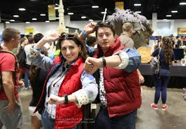 Marty Mcfly Costume Female Marty Mcfly Cosplay At Tampa Bay Comic Con 2015 Given