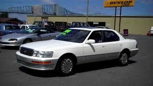 lexus ls400 1990 1990 lexus ls 400 sold