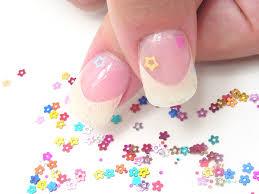 flat nail art shapes