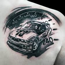 car tattoos for ideas and inspiration for guys
