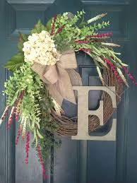 33 best wreaths images on monogram wreath