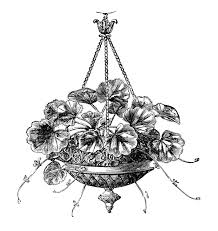 Free Chandelier Clip Art Royalty Free Images Victorian Urns Garden The Graphics Fairy