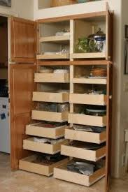Kitchen Cabinet Slide Out Shelf by Best 25 Pull Out Pantry Shelves Ideas Only On Pinterest Pull