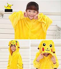 Pikachu Halloween Costume Kids Tonwhar Children U0027s Halloween Costumes Kids Kigurumi Onesie Animal