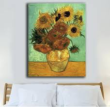 canvas painting for home decoration wall ideas sunflower wall art sunflower garden wall art