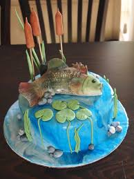 10 best images about fish cakes on pinterest birthday cakes man