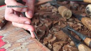 wood carving pattern thailand youtube