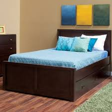 Indian Wooden Double Bed Designs With Storage Home Design Leather Double Bed With Wood Trimmed And Buttoned