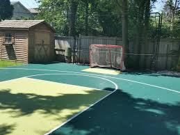 28x34 basketball hockey court ready for play now your kids have