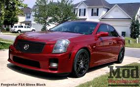 2006 cadillac cts v forgestar f14 19 20 wheels for the cadillac cts v