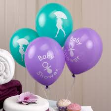Purple And Silver Baby Shower Decorations Baby Shower Baby Shower Decorations