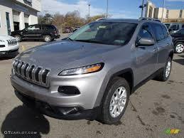 jeep billet silver billet silver metallic 2014 jeep cherokee latitude 4x4 exterior