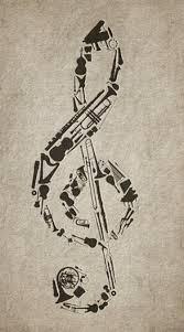 38 best saxophone clef tattoo images on pinterest key saxophone