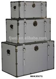 white leather trunks with metal trim buy leather luggage trunk