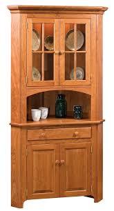 how to clean corners of cabinet doors amish galloway shaker 2 door corner hutch