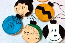 holiday craft ideas charlie brown christmas tree ornaments huffpost