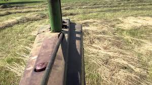 raking hay driver u0027s seat john deere 660 youtube