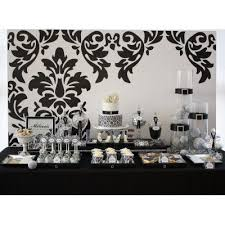 Black And White Candy Buffet Ideas by 14 Best Black White Party Ideas Images On Pinterest Black And