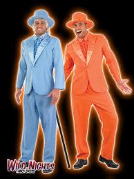 dumb and dumber costumes mens dumb and dumber pimp gangster suit fancy dress
