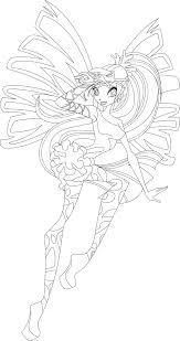 bloom sirenix coloring icantunloveyou deviantart