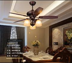 Popular Rustic Ceiling FansBuy Cheap Rustic Ceiling Fans Lots - Dining room ceiling fans