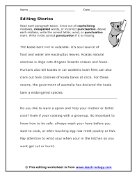 Editing And Proofreading Worksheets Editing Proofreading Worksheets Mreichert Worksheets