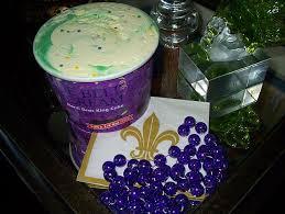 blue mardi gras the uptown acorn i scream for king cake