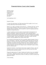 financial aid cover letter 28 images financial advisor cover