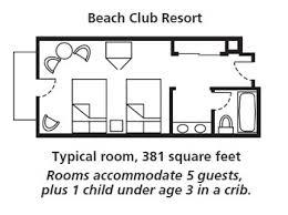 Disney Boardwalk Villas Floor Plan Disney U0027s Beach Club Resort