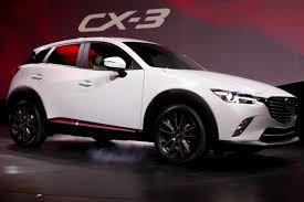 mazda crossover 2016 mazda cx 3 starts at 20 840 news cars com