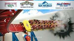 theme park deals gold coast unlimited access to the attractions warner bros movie world sea