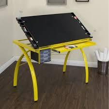 Drafting Table Hobby Lobby Studio Designs Futura Silver Blue Glass Drafting Table Free
