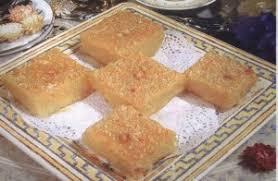 cuisine tunisienne gateau recette d el besboussa une recette de cuisine tunisienne gâteau